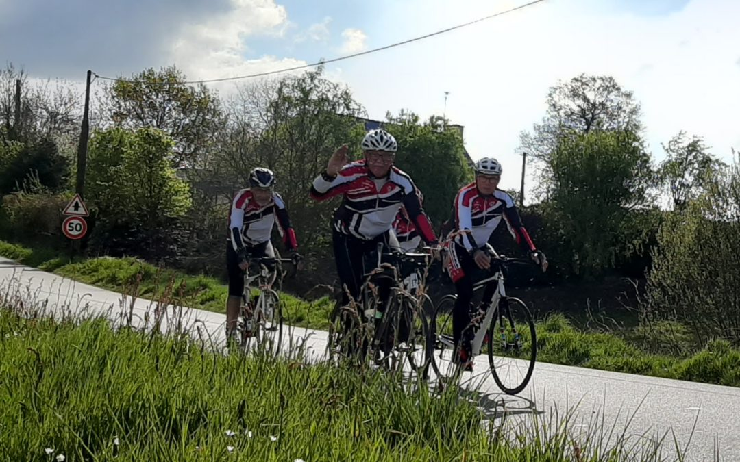 Heureux comme des Lamballais sur le vélo