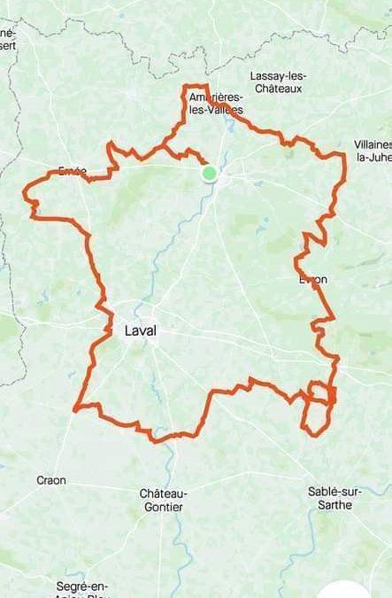 Olivier Galbin nous ramène la médaille du Tour de France En Mayenne